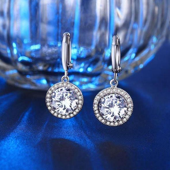 Beautiful austrian crystal earrings